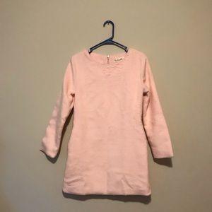 Romwe mini worm baby pink dress with pockets